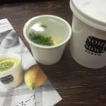 今日のランチは「芸術家のスープ」♪